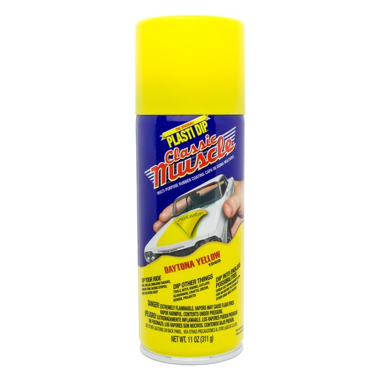Plasti Dip Spray 325 ml Daytona Yellow / Aerosol 11 oz Daytona Yellow