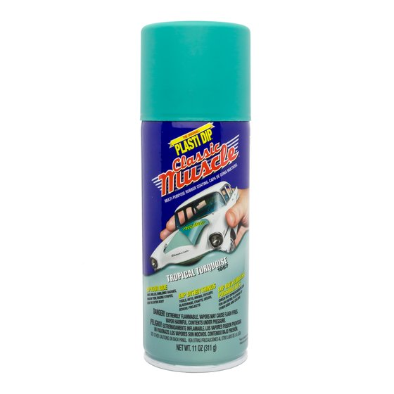 Plasti Dip Spray 325 ml Tropical Turquoise / Aerosol 11 oz Tropical Turquoise