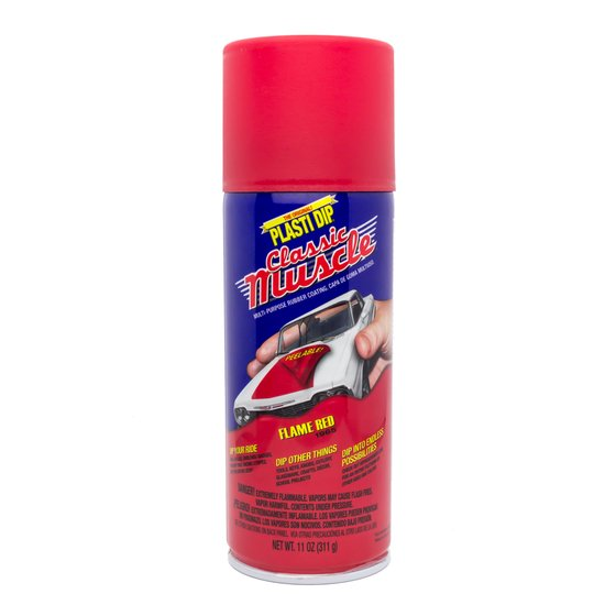 Plasti Dip Spray 325 ml Flame Red / Aerosol 11 oz Flame Red