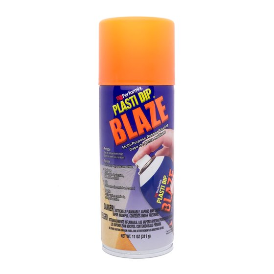 Plasti Dip Spray 325 ml Neon Orange / Aerosol 11 oz Blaze Orange