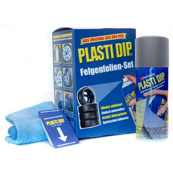 Felgenfolie grau Plasti Dip