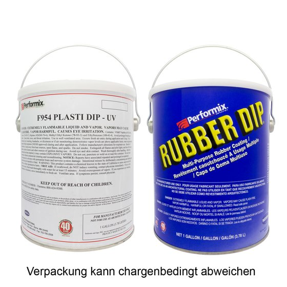 Plasti Dip Rot Gallone 3,78 l / 1 Gallon Can Red