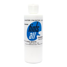 Master Painters, Tints-All, Flake White 8oz / 237 ml