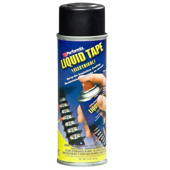Plasti Dip Liquid Tape Spray 175 ml Schwarz / Aerosol 6 oz Black