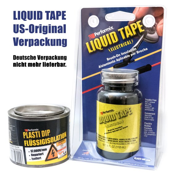 Plasti Dip Liquid Electrical Tape schwarz 118ml 4oz black