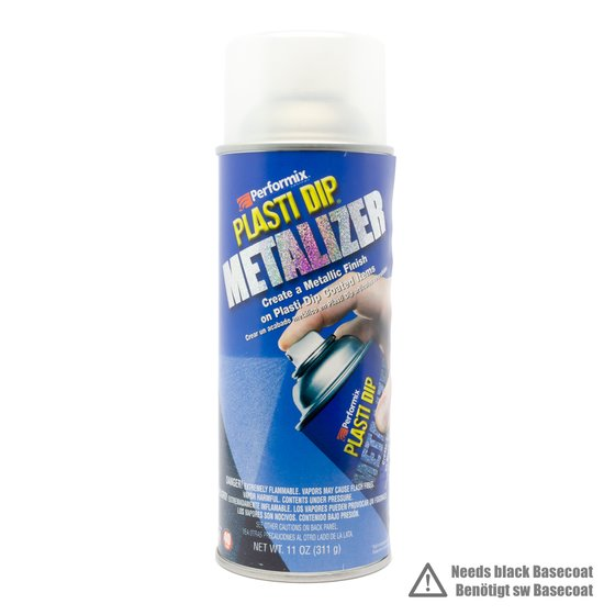 Plasti Dip Spray 325 ml Silber Metallic / Aerosol 11 oz Silver Metalizer