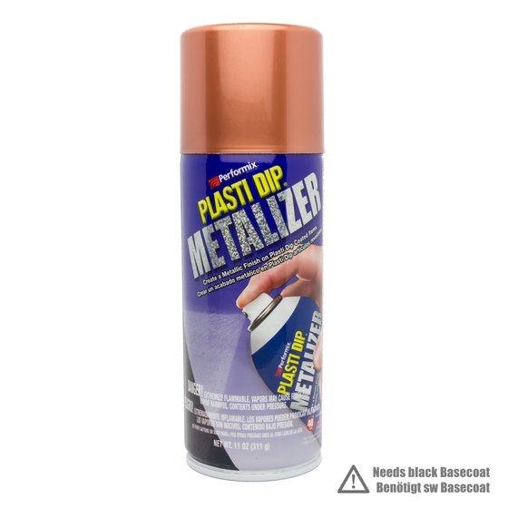 Plasti Dip Spray 325 ml Kupfer Metallic / Aerosol 11 oz Copper Metalizer