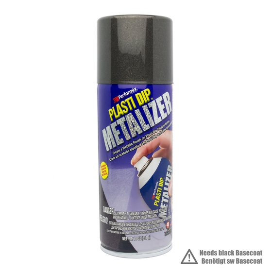Plasti Dip Spray 325 ml Graphit Metallic / Aerosol 11 oz Graphite Pearl Metalizer