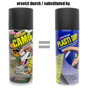 Plasti Dip Spray 325 ml Camo Schwarz / Aerosol 11 oz Camo...