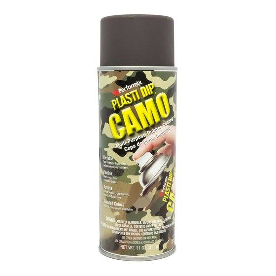 Plasti Dip Spray 325 ml Camo Braun / Aerosol 11 oz Camo Brown